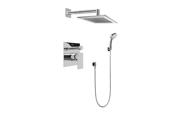 GRAFF G-7296-LM31S-T SOLAR CONTEMPORARY PRESSURE BALANCING SHOWER SET (TRIM ONLY)