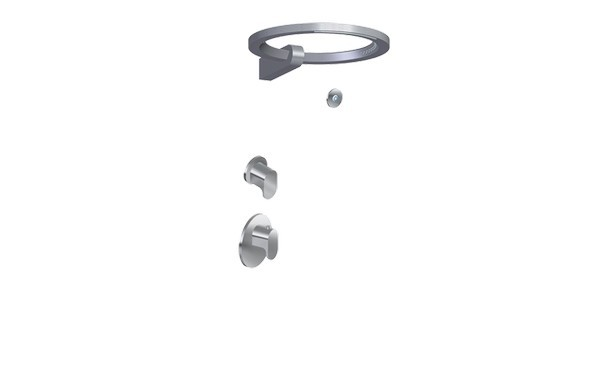 GRAFF GL2.009SD-LM44E0-T AMETIS THERMOSTATIC SHOWER SYSTEM - RING ( TRIM)