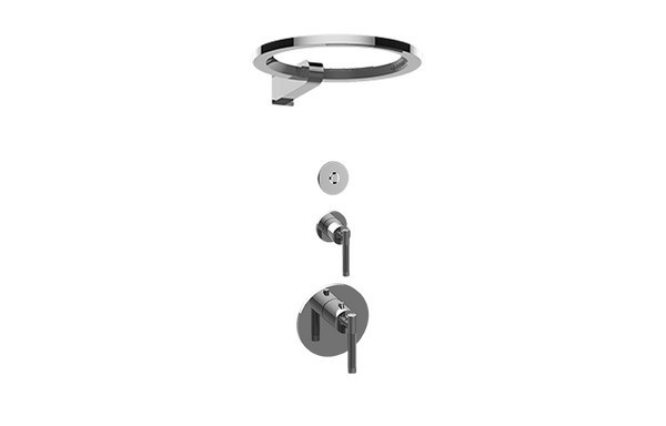 GRAFF GL2.009SD-LM57E0-T HARLEY THERMOSTATIC SHOWER SYSTEM - RING ( TRIM)