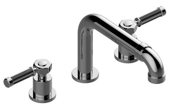 Polished Chrome Graff G-2150-LM20B-PC-T Bali Two Handle Roman Tub Faucet