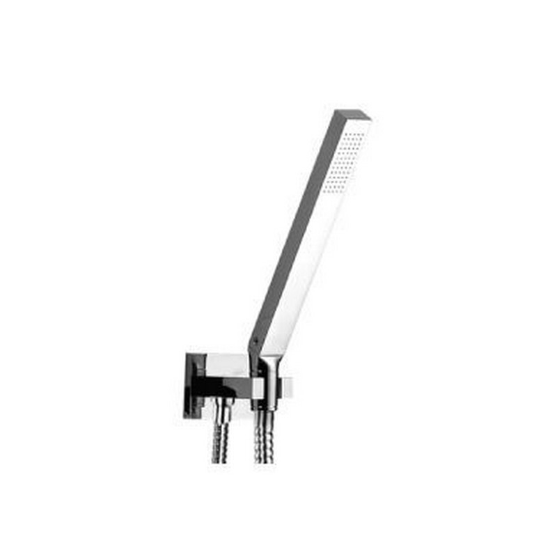 ISENBERG HS1003 UNIVERSAL FIXTURES HAND SHOWER SET WITH WALL ELBOW, COMBINED HOLDER AND HOSE