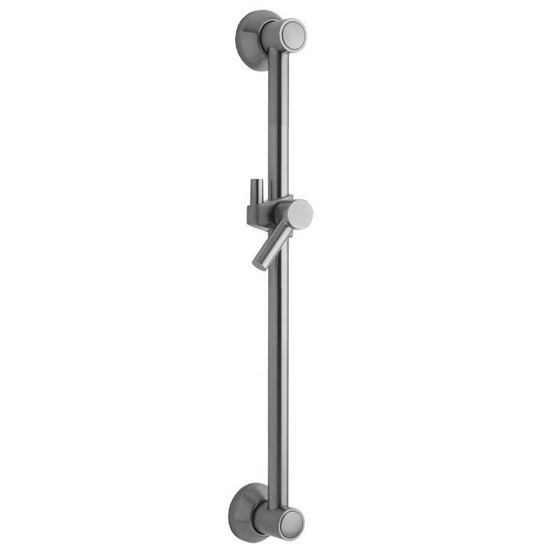 Satin Chrome 24 Standard Plumbing Supply 24 Jaclo 7324-SC Retro Handshower Slide Bar with Ribbon Lever Handle