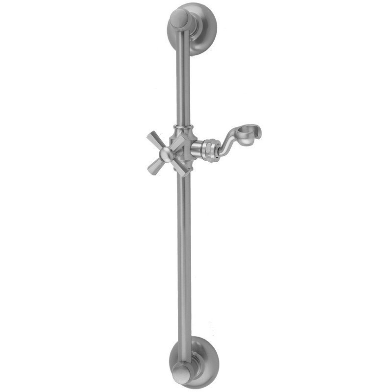 JACLO 7624 24 INCH TRADITIONAL WALL BAR WITH HEX CROSS HANDLE