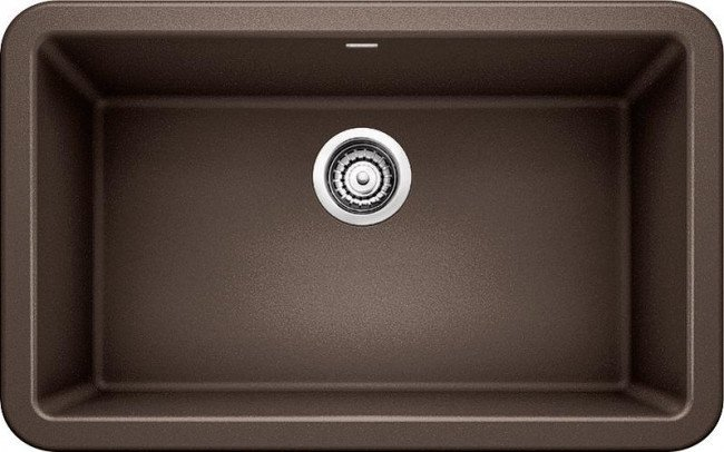 Blanco 401733 Ikon Granite 30 Inch Kitchen Sink in Cafe Brown