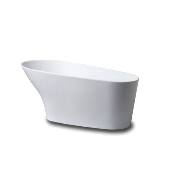 JASON 5173.00.01 CARRERA CB553P 66 L X 36 W INCH SOAKING PEDESTAL OVAL BATHTUB IN WHITE