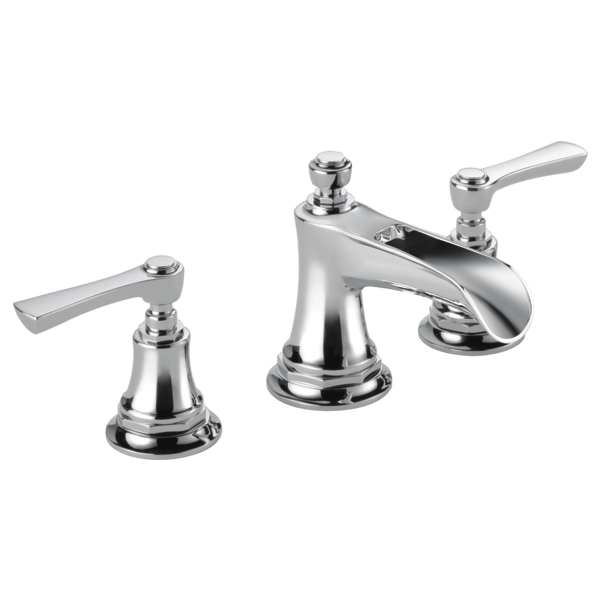 BRIZO 65361LF-LHP ROOK TWO HANDLE WIDESPREAD LAVATORY FAUCET - LESS HANDLES