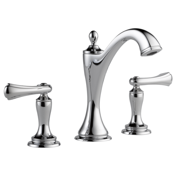 Brizo 65385LF-LHP Charlotte Two Handle Widespread Lavatory Faucet - Less Handles