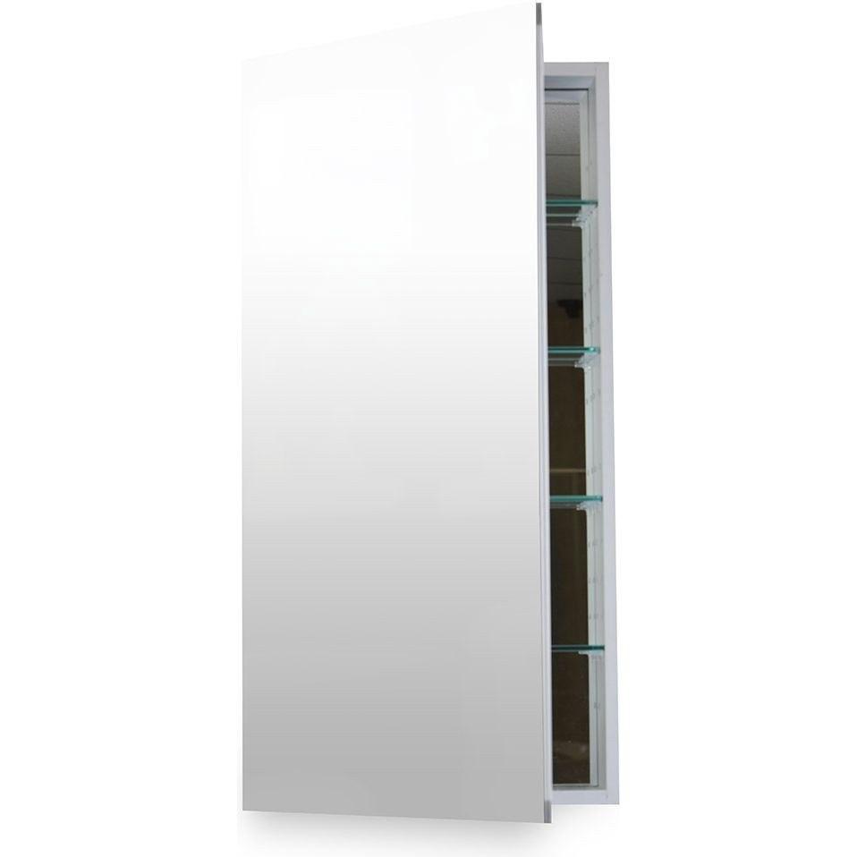 Flawless Mc 1236 Anodized Aluminum 12 W X 36 H Inch Medicine Cabinet