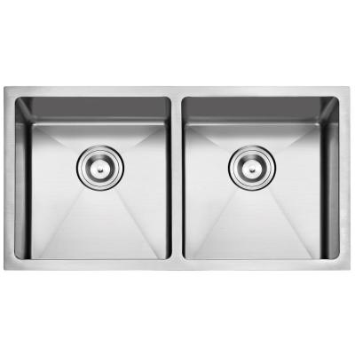 STUFURHOME NW-3320D NATIONALWARE 16-GAUGE STAINLESS STEEL 33-INCH SINGLE BASIN UNDERMOUNT KITCHEN SINK