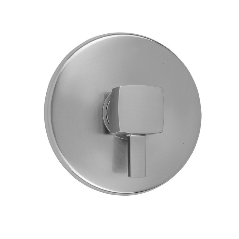 Polished Copper Jaclo A234-TRIM-PCU Traditional Round Shower Valve Trim with Traditional Lever Handle