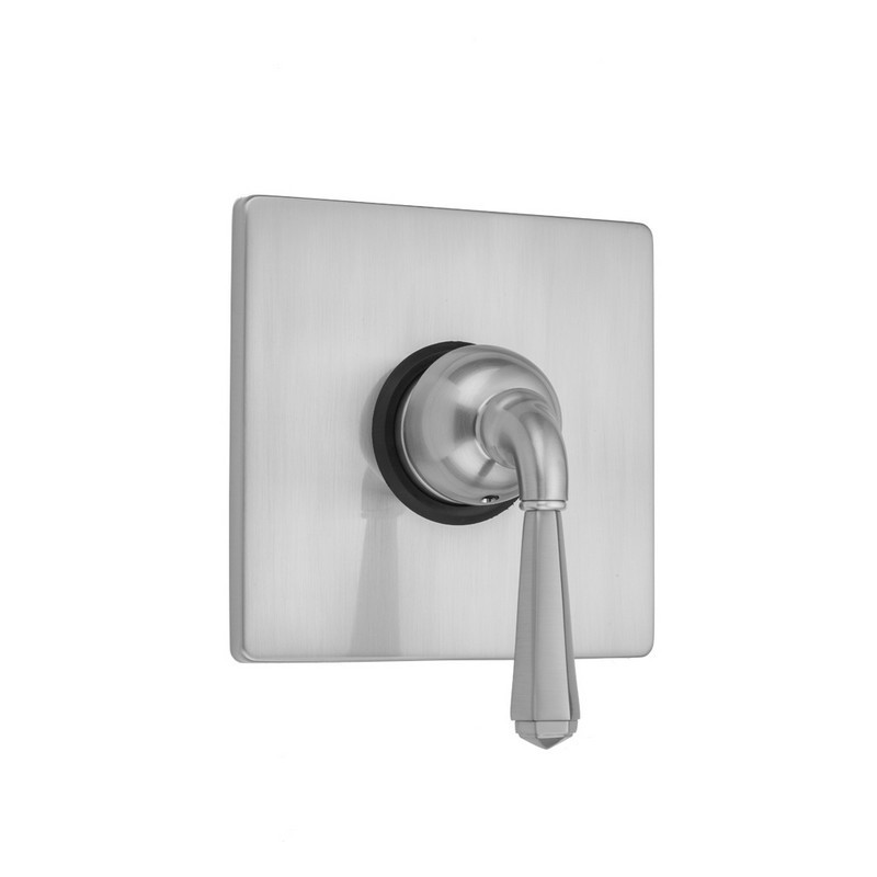 Jaclo A296-TRIM-SN Oval Pressure Balance Valve with Lever Handle Satin Nickel