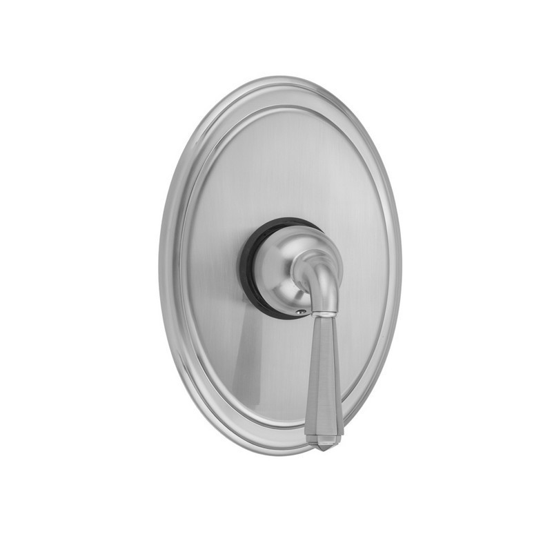 Jaclo A285-TRIM-PG Round Pressure Balance Valve with Hex Lever Handle Polished Gold