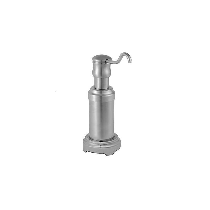 JACLO LD-15 TRADITIONAL FREESTANDING SOAP/LOTION DISPENSER WITH ROUND BASE