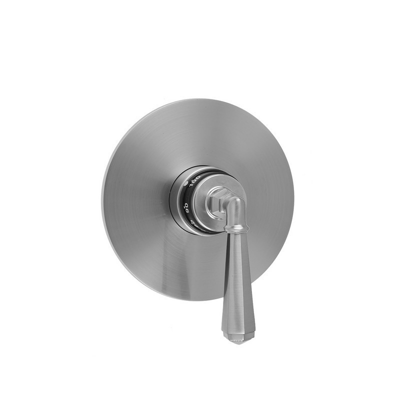 JACLO T184-TRIM ROUND PLATE WITH HEX LEVER TRIM FOR THERMOSTATIC VALVES (J-TH34 AND J-TH12)