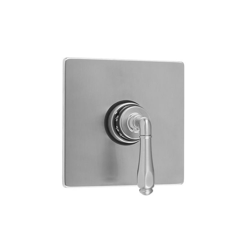 JACLO T474-TRIM SQUARE PLATE WITH SMOOTH LEVER TRIM FOR THERMOSTATIC VALVES (J-TH34 AND J-TH12)