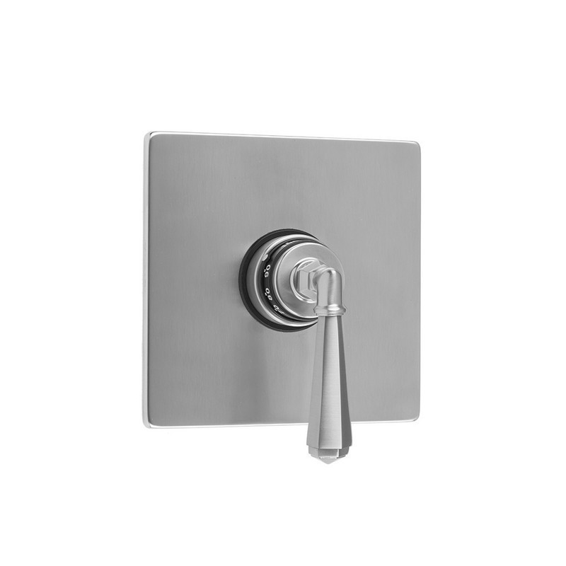 JACLO T484-TRIM SQUARE PLATE WITH HEX LEVER TRIM FOR THERMOSTATIC VALVES (J-TH34 AND J-TH12)