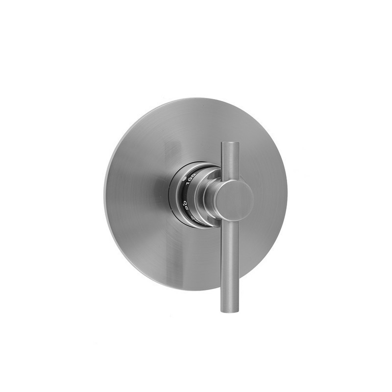 Jaclo T538 Trim Round Plate With Contempo Low Peg Lever Trim For Thermostatic Valves J Th34 And J Th12 T538 Trim Ab