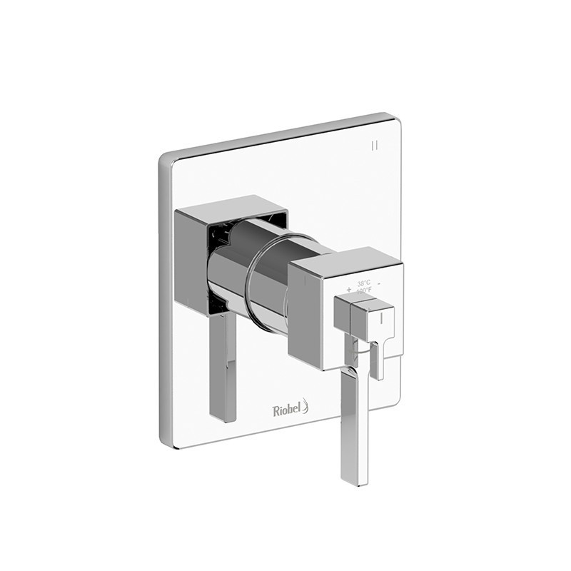 RIOBEL MZ47 MIZO 3-WAY NO SHARE TYPE T/P (THERMOSTATIC/PRESSURE BALANCE) COAXIAL COMPLETE VALVE