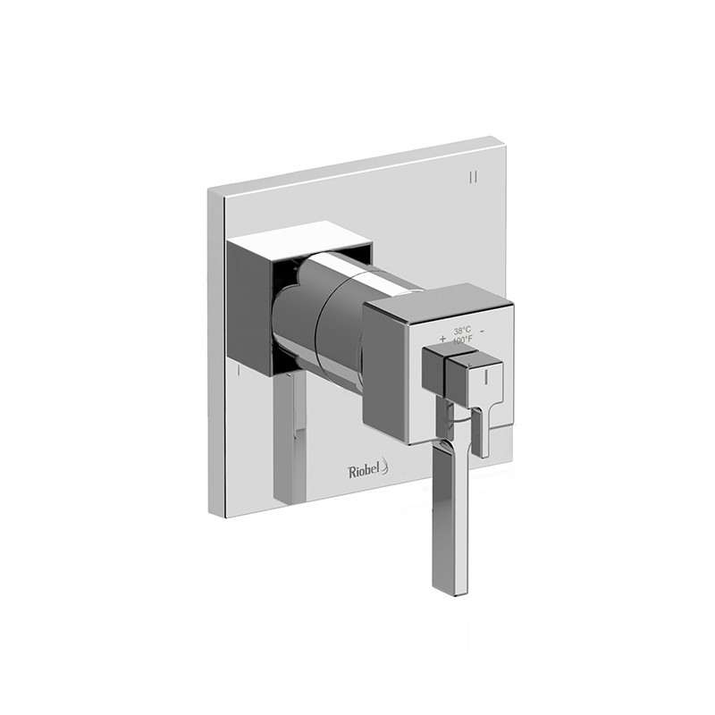 RIOBEL MZ97C MIZO 3-WAY NO SHARE TYPE T/P (THERMOSTATIC/PRESSURE BALANCE) COAXIAL COMPLETE VALVE IN CHROME