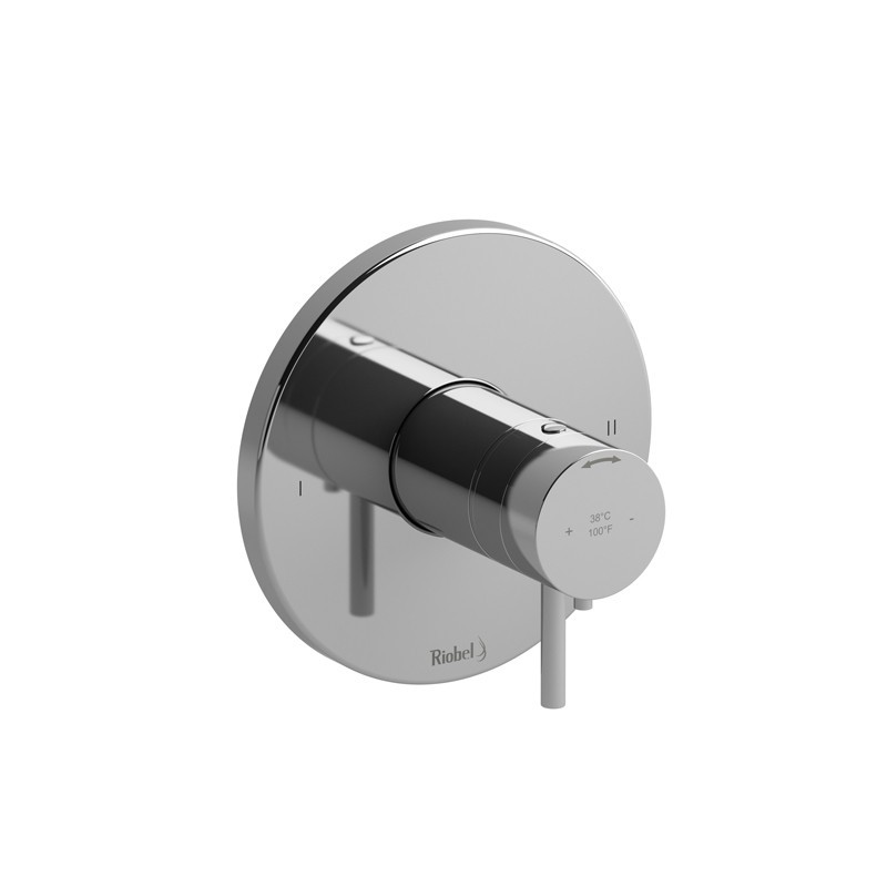RIOBEL PATM44 PALLACE 2-WAY NO SHARE TYPE T/P (THERMOSTATIC/PRESSURE BALANCE) COAXIAL COMPLETE VALVE