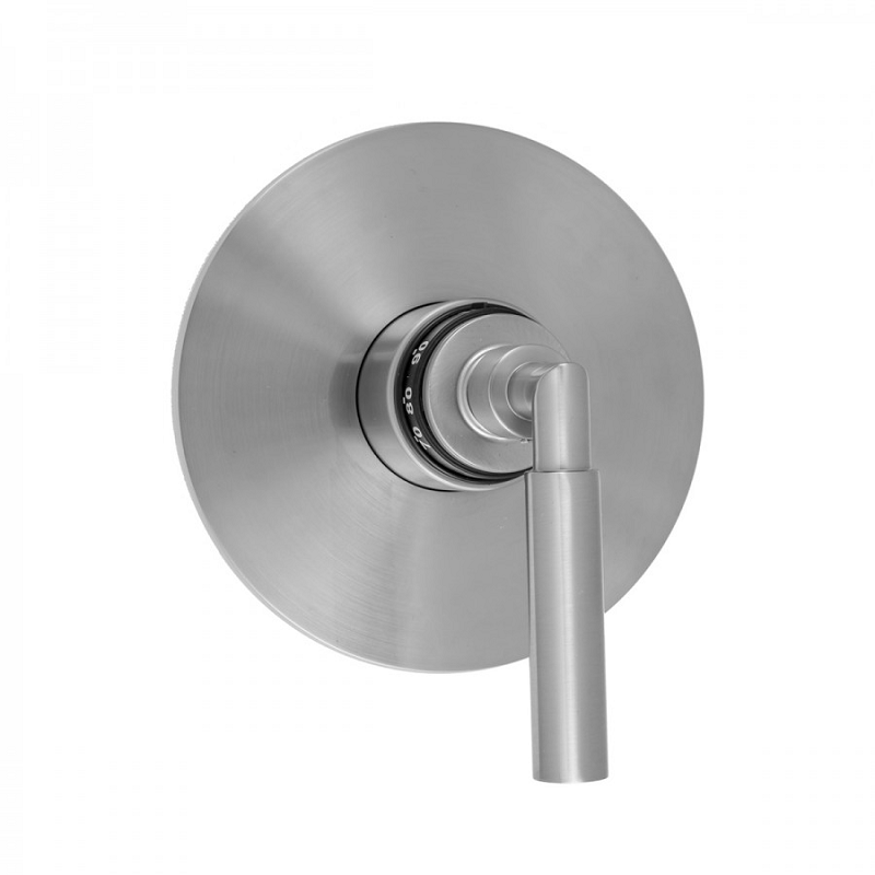 JACLO T559-TRIM ROUND PLATE WITH CONTEMPO SLIM LEVER HANDLE TRIM FOR THERMOSTATIC VALVES (J-TH34 AND J-TH12)