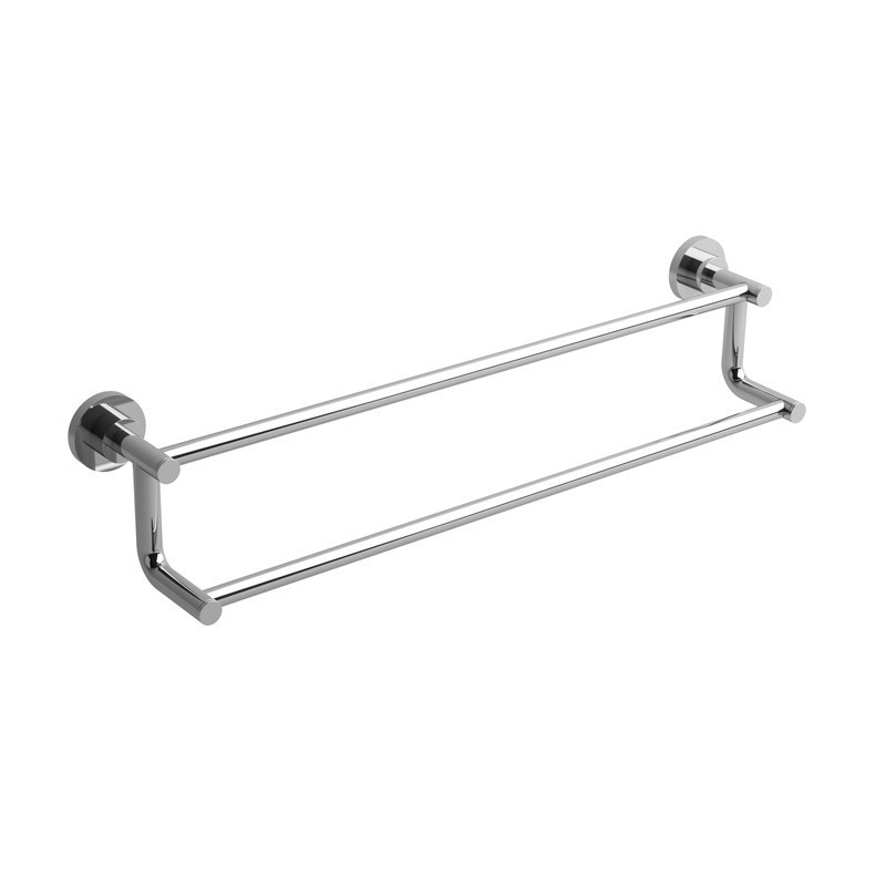 RIOBEL ST6 STAR 24 INCH DOUBLE TOWEL BAR