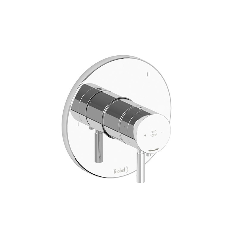 RIOBEL SYTM47-EX SYLLA 3-WAY NO SHARE TYPE T/P (THERMOSTATIC/PRESSURE BALANCE) COAXIAL COMPLETE VALVE EXPANSION PEX