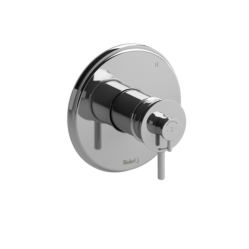 RIOBEL TATOP47 ALTITUDE 3-WAY NO SHARE TYPE T/P (THERMOSTATIC/PRESSURE BALANCE) COAXIAL VALVE TRIM