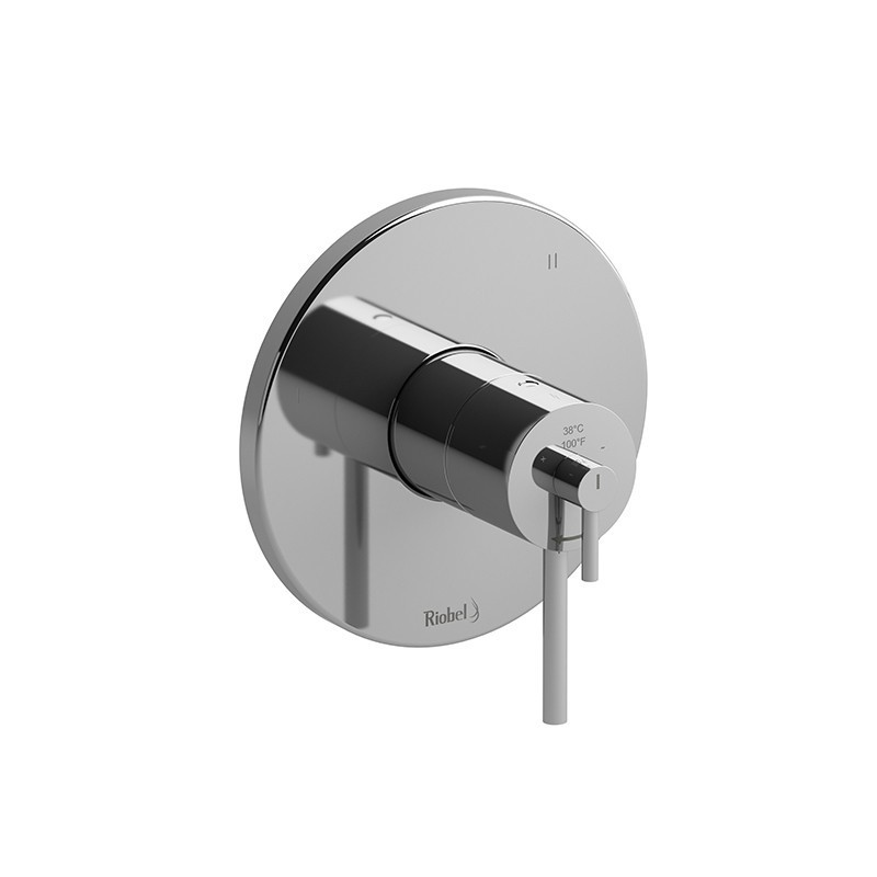 RIOBEL TSTM47 3-WAY NO SHARE TYPE T/P (THERMOSTATIC/PRESSURE BALANCE) COAXIAL VALVE TRIM