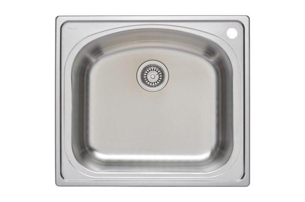 Wells Sinkware CHT2522-10R Chicago Series 25 Inch Single Bowl Topmount  Kitchen Sink