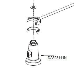 Danze DA523441N Pre-Rinse Spray Head