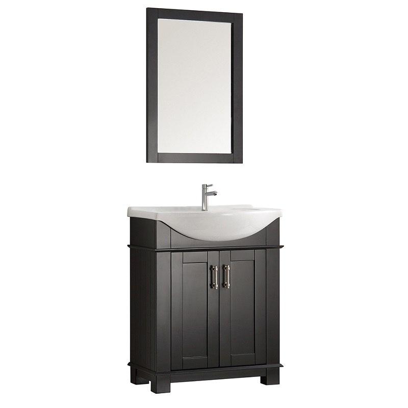 Fresca Fcb2303bl I Hartford 30 Inch Black Traditional Bathroom Vanity