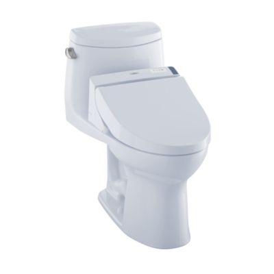 TOTO MW6042044CEFG#01 ULTRAMAX II CONNECT+ C200 ONE-PIECE TOILET, 1.28 GPF WITH SANAGLOSS
