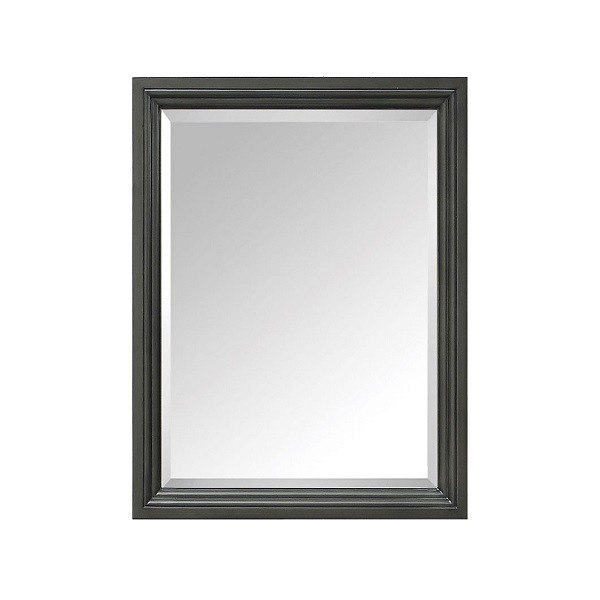Avanity THOMPSON-M24-CL Thompson 24 Inch Rectangular Mirror in Charcoal Glaze