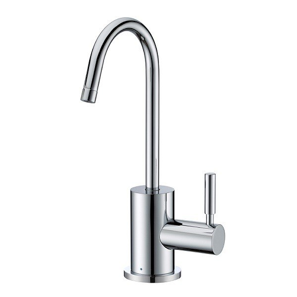 Whitehaus WHFH-C1010 Point of Use Cold Water Faucet with Contemporary Spout