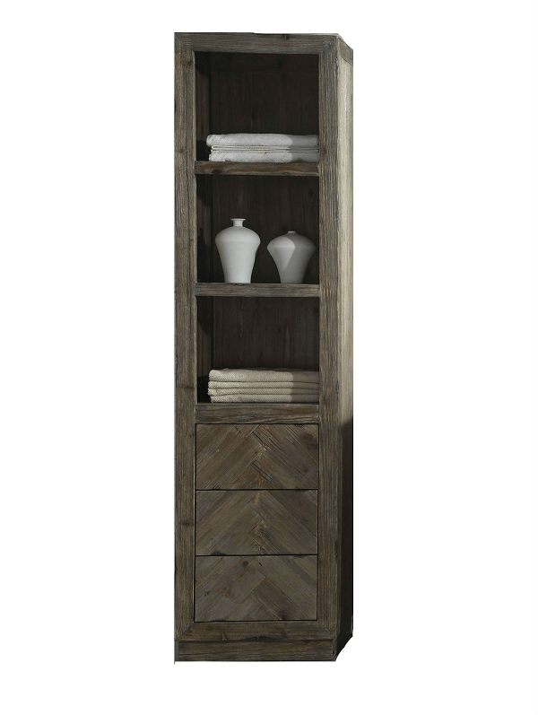LEGION FURNITURE WH8220 20 INCH SIDE CABINET FOR WH85 IN BROWN