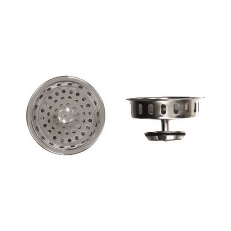 NOVANNI 11-0870 CHROME PLATED BRASS COMPLETE STRAINER ASSEMBLY