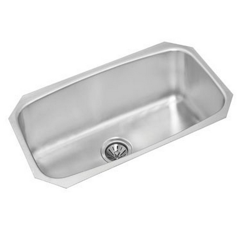 NOVANNI JE1729D8U ELITE 29 INCH STAINLESS STEEL LARGE SINGLE BOWL KITCHEN SINK