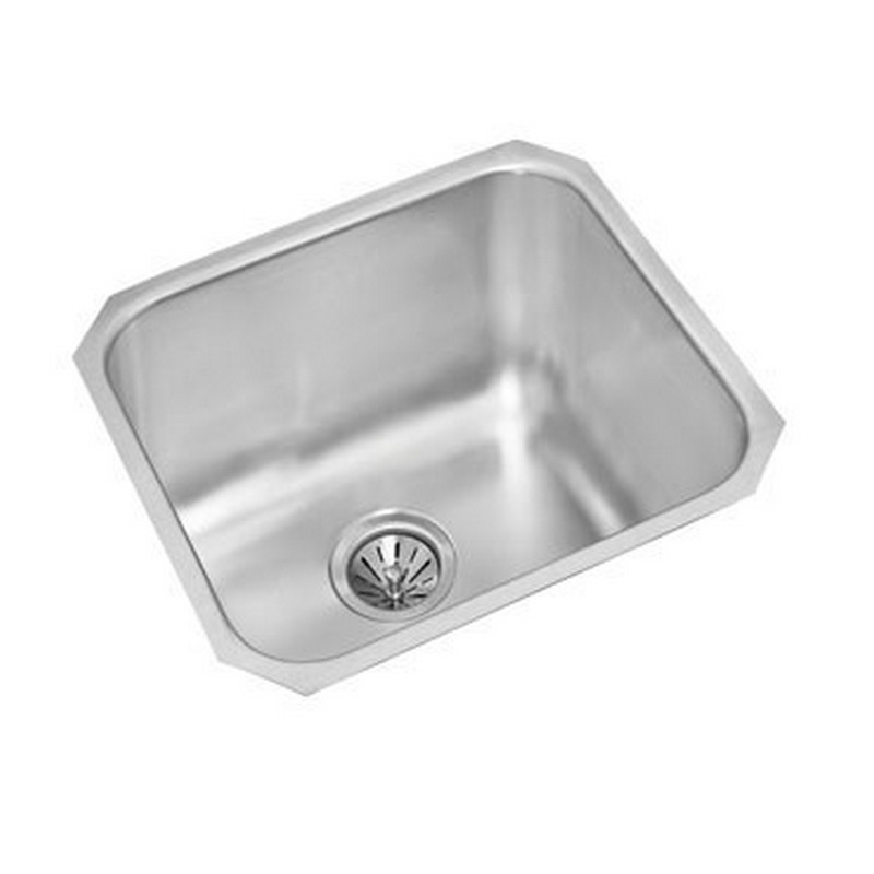 NOVANNI JEU1820D10U ELITE 20 INCH STAINLESS STEEL SINGLE BOWL KITCHEN SINK