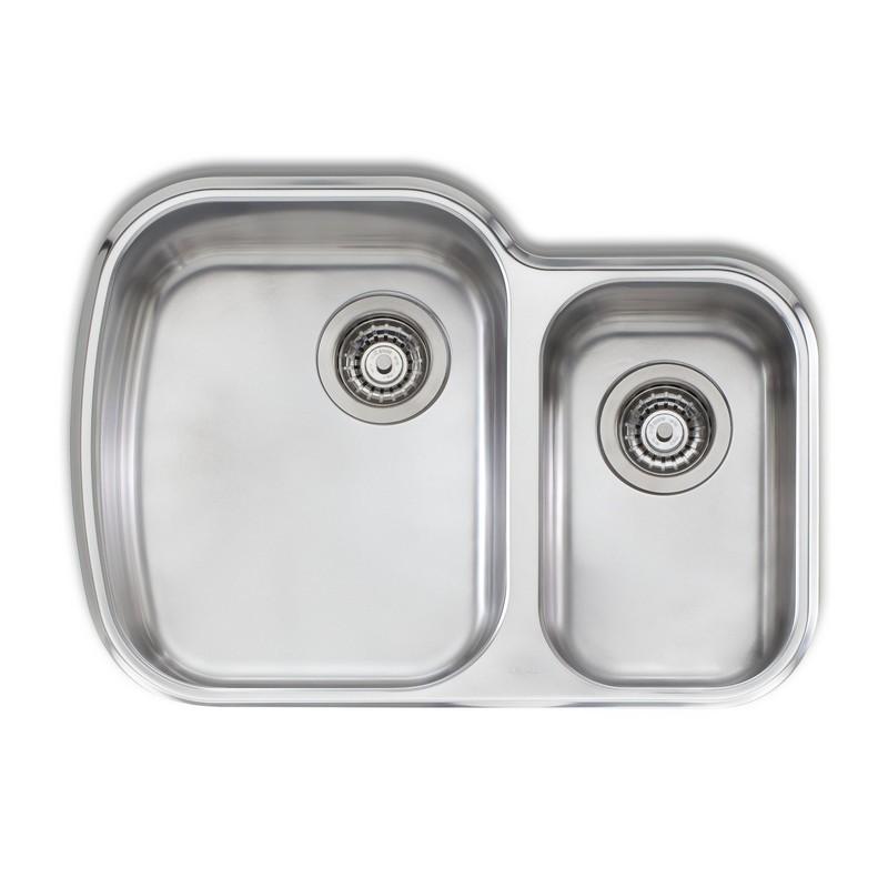 Novanni Ol71u Oliveri 27 5 8 Inch One And A Half Bowl Stainless Steel Kitchen Sink