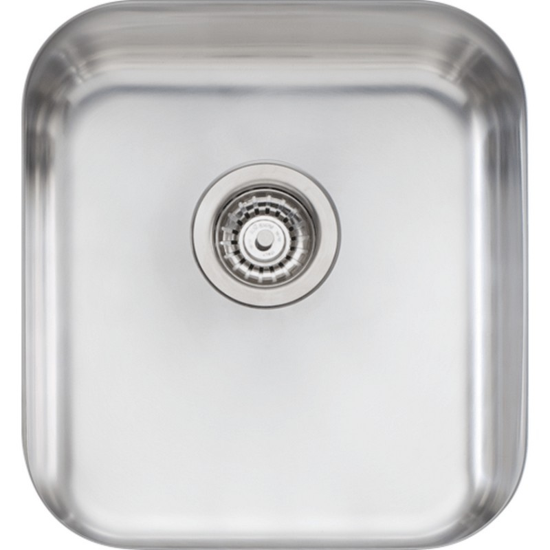 Novanni Olnp650u Oliveri 16 Inch Single Bowl Stainless Steel Kitchen Sink
