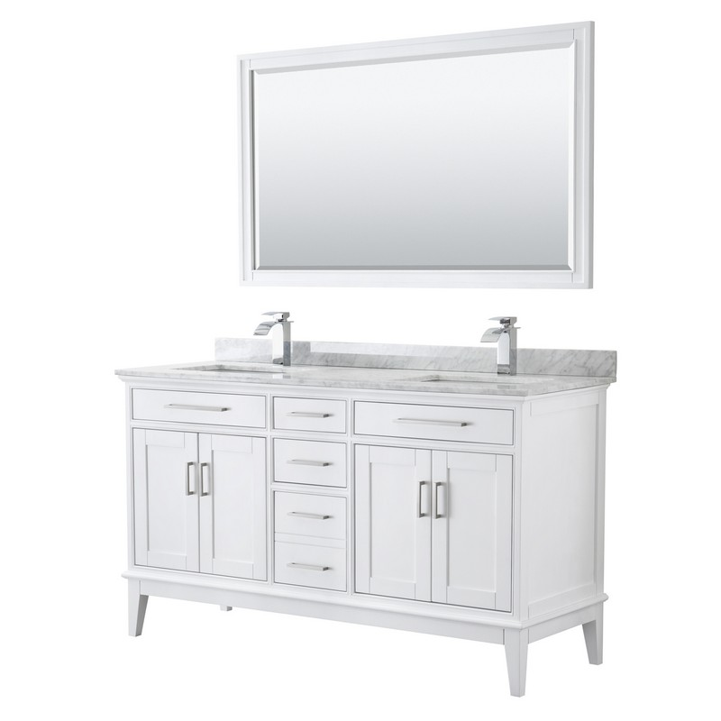 60 Inch Double Bathroom Vanity, 56 Bathroom Vanity Double Sink