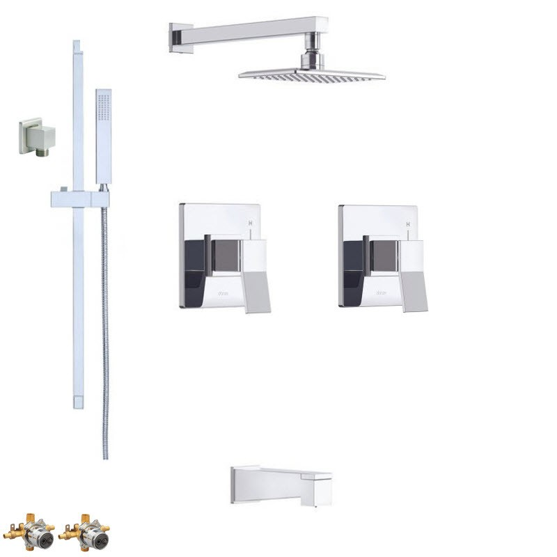 DANZE AVIAN COMBO PACK SHOWER SYSTEM