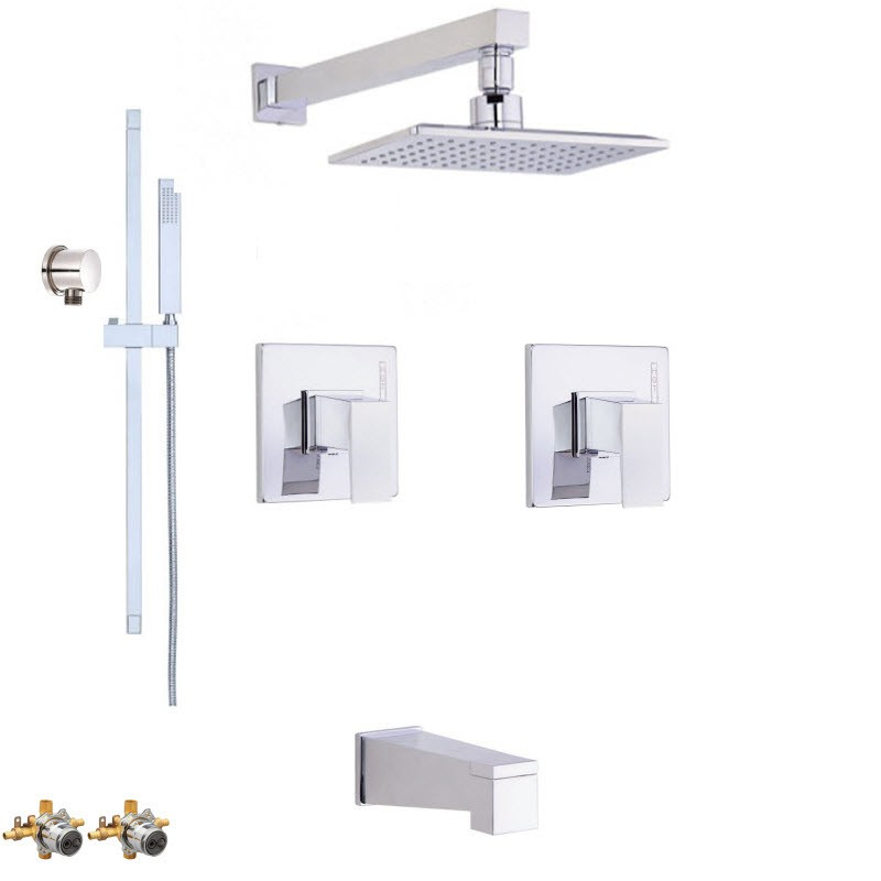 DANZE MID-TOWN COMBO PACK SHOWER SYSTEM