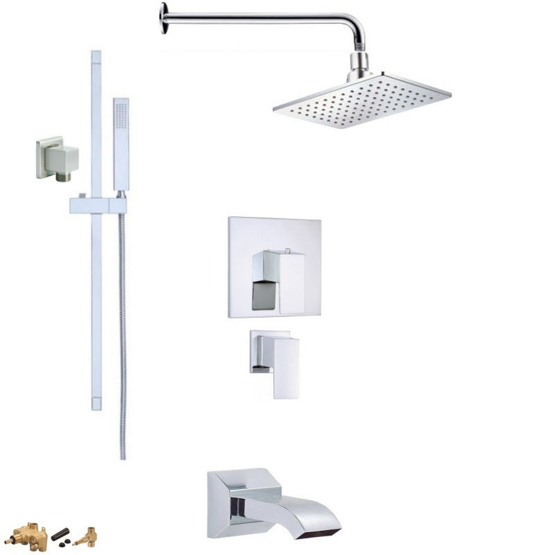 DANZE MONO COMBO PACK SHOWER SYSTEM