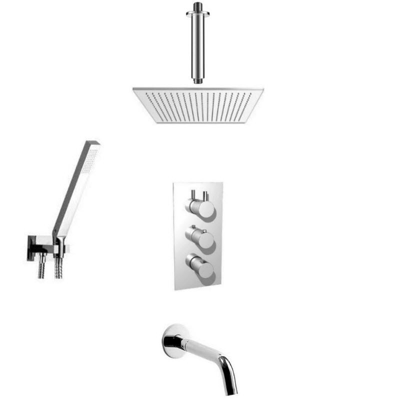 ISENBERG SERIES 100 COMBO PACK SHOWER SYSTEM
