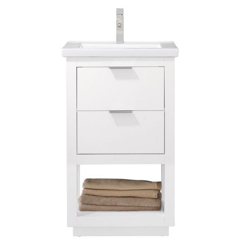 Design Element S04 20 Wt Klein 20 Inch Bath Vanity In White