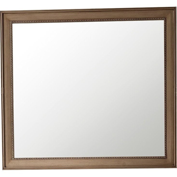 James Martin 157-M44-WW Bristol 44 Inch Rectangular Mirror in White Washed Walnut