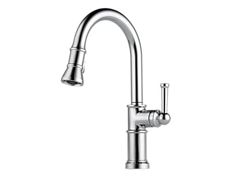 Brizo 63025LF Artesso Single-Handle Pull-Down Kitchen Faucet
