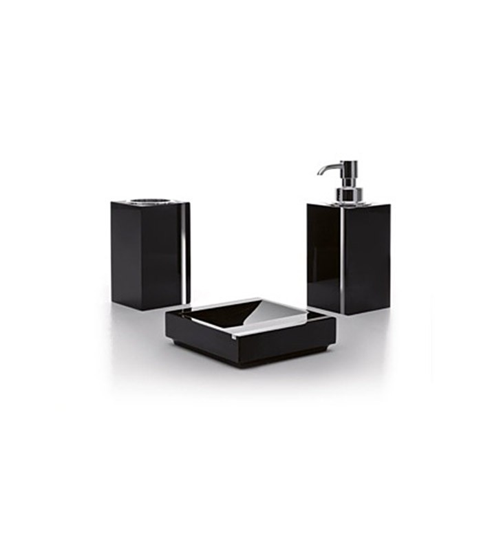 TOSCANALUCE A10200 GALLERY SQUARE THREE PIECE ACCESSORY SET